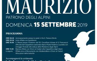 I Nostri Anniversari - San Maurizio – 15 settembre 2019