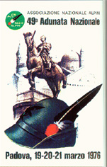 Manifesto Adunata Padova 1976
