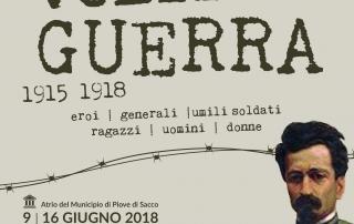 7 Giugno 2018 - Volti di Guerra