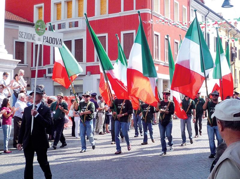 La sezione di Padova