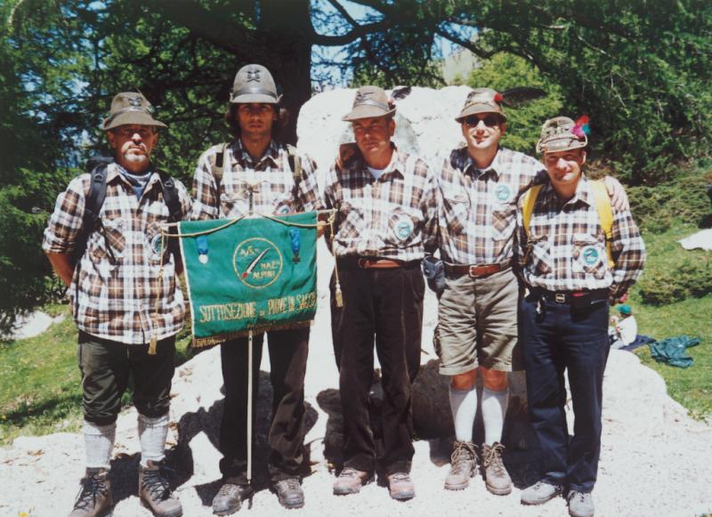Giugno 1996 - Rifugio Contrin