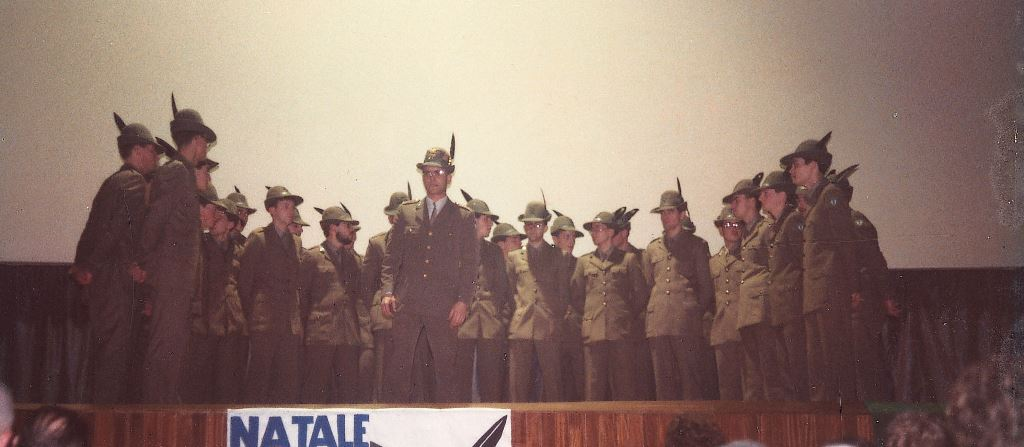 1983 Natale con gli Alpini
