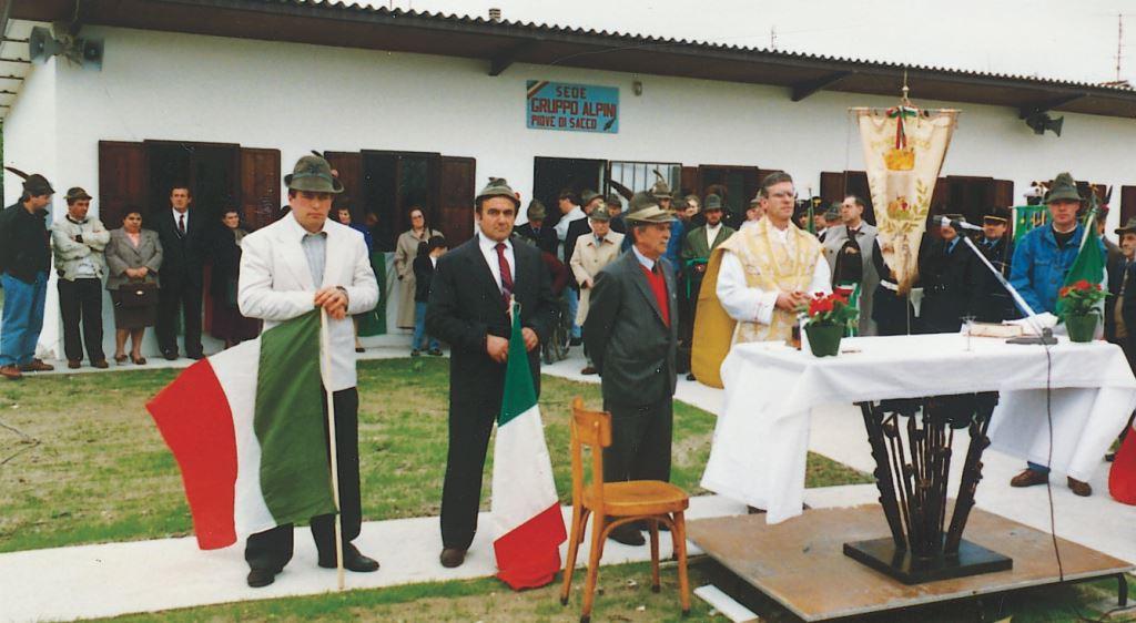 Alpini Piove di Sacco - Messa al campo per l'Inaugurazione