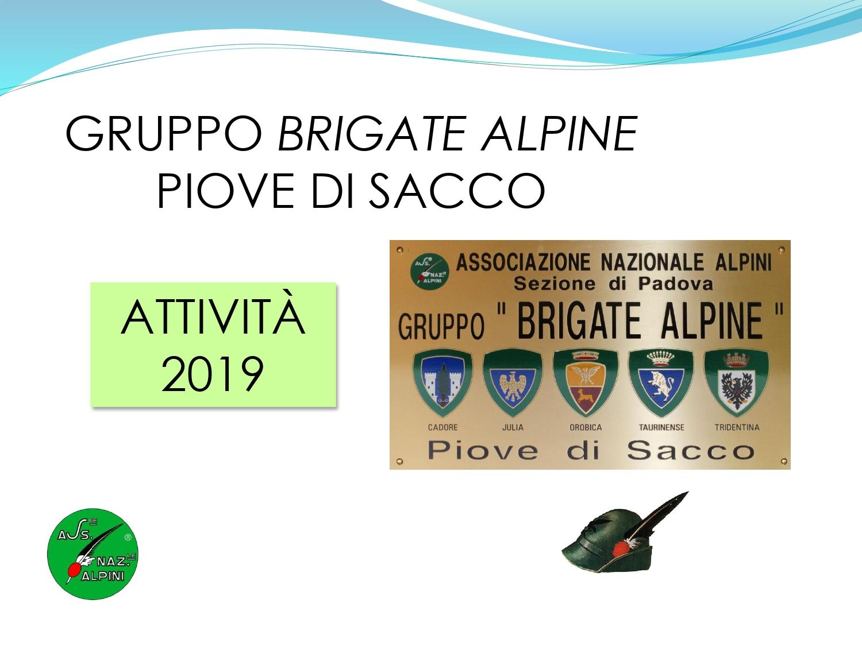 Attività 2019